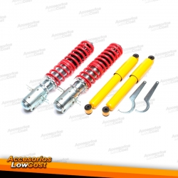 KIT SUSPENSIONES ROSCADAS VOLKSWAGEN CADDY 1979 - 1993