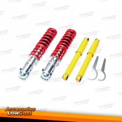 KIT SUSPENSIONES ROSCADAS VOLKSWAGEN CADDY 2 1995 - 2003