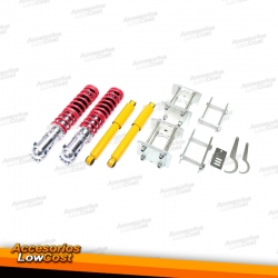 KIT SUSPENSIONES ROSCADAS VOLKSWAGEN CADDY 1995 - 2003