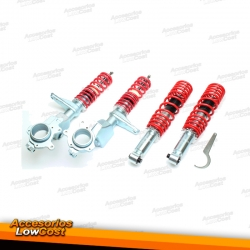 KIT SUSPENSIONES ROSCADAS VOLKSWAGEN POLO 1975 - 09/1994
