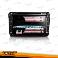 "RADIO DVD GPS TACTIL DE 8"" ESPECIFICA"