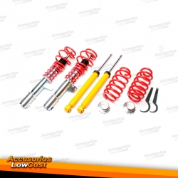 KIT SUSPENSIONES ROSCADAS VOLKSWAGEN GOLF 6 2008 -