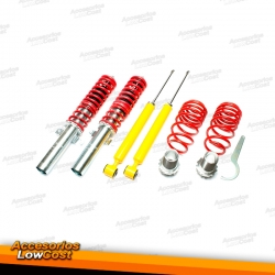 KIT SUSPENSIONES ROSCADAS VOLKSWAGEN POLO 11/2001 - 05/2009