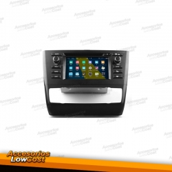 "RADIO NAVEGADOR TACTIL 6,5"" HD ANDROID PARA BMW SERIE 1 GPS USB BLUETOOTH DVD"