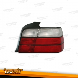 PILOTOS BMW SERIE 3 E36 BERLINA LOOK M3 COLOR ROJO-CLARO 91-99
