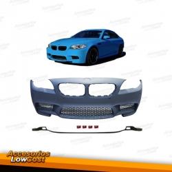 PARAGOLPES DELANTERO LOOK M5 BMW SERIE 5 F10 10-17 CON PDC Y LAVAFAROS