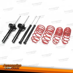 KIT SUSPENSION DEPORTIVA CITROEN C4 INCLUiDO COUPE 2004-2010
