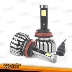 KIT DE BOMBILLAS LED H11, N7 6000K 40W