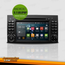 "RADIO GPS ANDROID ESPECIFICO DE 7"" TACTIL HD MERCEDES A, B, VITO, SPRINTER"