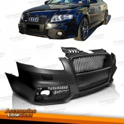 PARAGOLPES FRONTAL Look S-LINE (RS4) para AUDI A4 B7 (04-07), PDC+RSA.