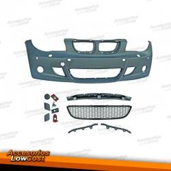 PARAGOLPES BMW E87 04-11. PACK M - CON LAVAFAROS Y PARK TRONIC