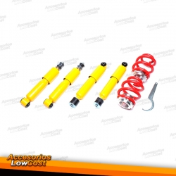 KIT SUSPENSIONES ROSCADAS VOLKSWAGEN TRANSPORTER 1990 - 2003