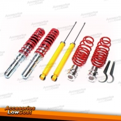 KIT SUSPENSIONES ROSCADAS AUDI A3 8L 1996 - 2003