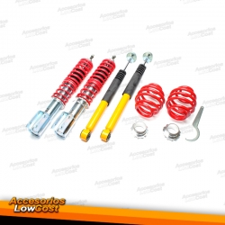 KIT SUSPENSIONES ROSCADAS RENAULT CLIO 2 1998 - 2005