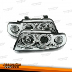 FAROS ANGEL EYE AUDI A4 B5 94-99 CROMADOS
