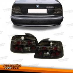 PILOTOS TRASEROS BMW SERIE 5 E39. CRISTAL NEGRO- AHUMADO