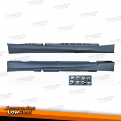 TALONERAS LATERALES LOOK PACK M BMW E87 04-11. 5 PUERTAS