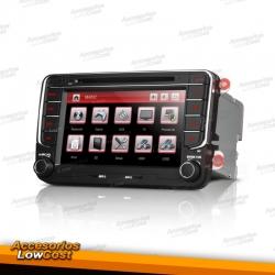 """RADIO GPS 7"""" HD TACTIL ESPECIFICO SEAT, NUEVO DISEÑO"""