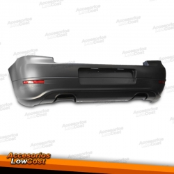PARAGOLPES TRASERA COLOR NEGRO PARA VOLKSWAGEN GOLF 4 IV LOOK GOLF 5 (1997-2003).