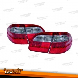 PILOTOS LED MERCEDES CLASE E W211 KOMBI (02-06). COLOR ROJO-BLANCO