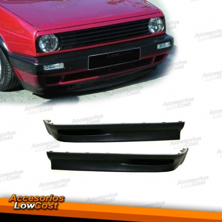spoilers frontal para vw golf 2. Black Bedroom Furniture Sets. Home Design Ideas