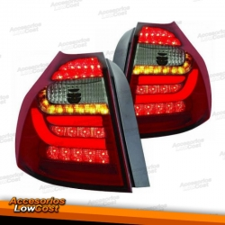 PILOTOS TRASEROS LEDS PARA BMW SERIE 1 E87. COLOR ROJO-BLANCO.