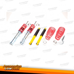KIT SUSPENSIONES ROSCADAS FIAT 500, 500 ABARTH 2007 -