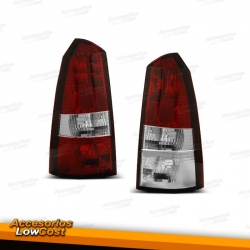 PILOTOS TRASEROS FORD FOCUS TOURNIER 98-04 ROJO BLANCO
