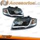 FAROS LED TFL LUZ DIURNA AUDI A4 B6 (10/00-11/04) NEGROS