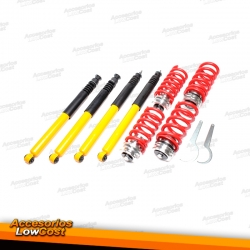 KIT SUSPENSIONES ROSCADAS MERCEDES CLASE C 202 01/1996 - 01/2001