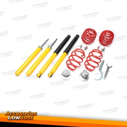 KIT SUSPENSIONES ROSCADAS OPEL KADETT 09/1984 - 1993