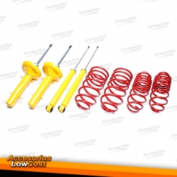 KIT SUSPENSION DEPORTIVA PEUGEOT 206 / 206 SW / 206 CC / 206 RC 08/1998-2006