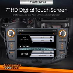 RADIO GPS DVD 2 DIN 7r ESPECIFICO PARA TOYOTA RAV4 (MODELOS ANTERIORES AL 2012)