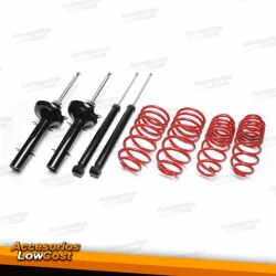 KIT SUSPENSION DEPORTIVA RENAULT MEGANE COACH / CABRIO 10/1998-09/2002