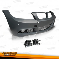 PARAGOLPES PACK M PARA BMW E90/91, 08-11,  LIM./TOURING, CON PDC SIN SRA
