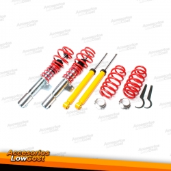 KIT SUSPENSIONES ROSCADAS VOLKSWAGEN TOURAN 2003 - 2010