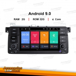 "RADIO GPS DVD 2 DIN TACTIL 7"" ANDROID ESPECIFICO BMW E46"
