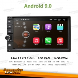 RADIO GPS DVD 7 PULGADAS HD TACTIL BLUETOOTH MANOS LIBRES