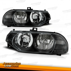 FAROS ALFA 156 97-03. COLOR NEGRO.