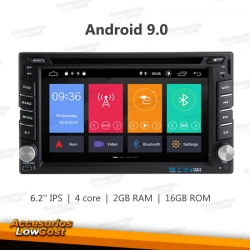 RADIO 2DIN GPS DVD CON PANTALLA TACTIL 6,95 PULGADAS CAR PC