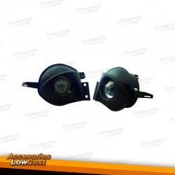 FAROS ANTINIEBLAS E90+91, 05-08 H11/NO M-MODELO- NEGRO CON LENTE DE PROYECTOR