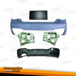 PARAGOLPES TRASERO SPORT LOOK M PERFORMANCE PARA BMW SERIE 1 F20 F21 11-15, CON PDC.