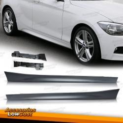 TALONERAS LATERALES LOOK M PARA BMW Serie 1 F20/F21, 11-15, 5 PUERTAS