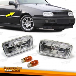INTERMITENTES LATERALES CROMO VW GOLF 3, PASSAT B3, VENTO