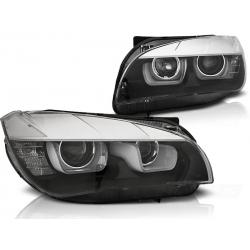 FAROS BMW X1 12-14 XENON LED 3D FONDO NEGRO