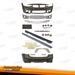 KIT DE CARROCERÍA LOOK EVO M3 CON PDC PARA BMW SERIE 3 F30/F31 (11-15) SEDAN