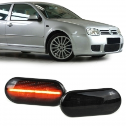 INTERMITENTES LATERALES DE LED DINAMICOS AHUMADOS PARA AUDI A3 GOLF
