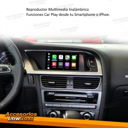 REPRODUCTOR MULTIMEDIA AUDI-CARPLAY PARA AUDI A4 B5 (08-15), AUDI MMI Y ANDROID
