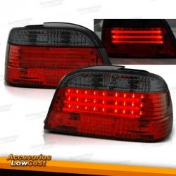 PILOTOS TRASEROS LIGHTBAR ROJO-AHUMADO PARA BMW SERIE 7 E38 94-01