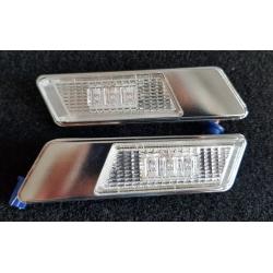 INTERMITENTES LATERALES LED CROMO E36 90-96, E34 88-95